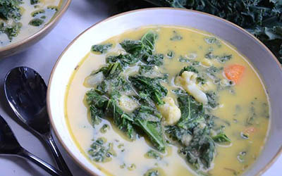 kale chowder